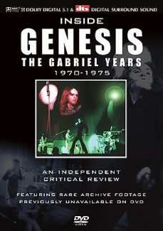 Inside Genesis The Gabriel Years 1970-1975: 2004 DVD